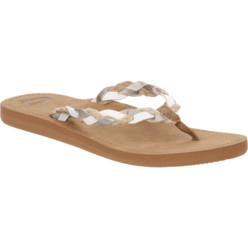 O'Rageous Women's Rafia Braid Sandals - view number 2