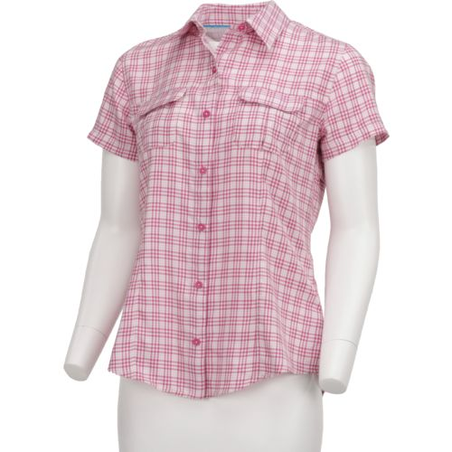 Magellan Outdoors Women's Aransas Pass Tricolor Plaid Shirt