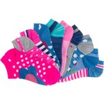 BCG Girls' Flowers and Fruits No-Show Socks 10 Pairs - view number 3