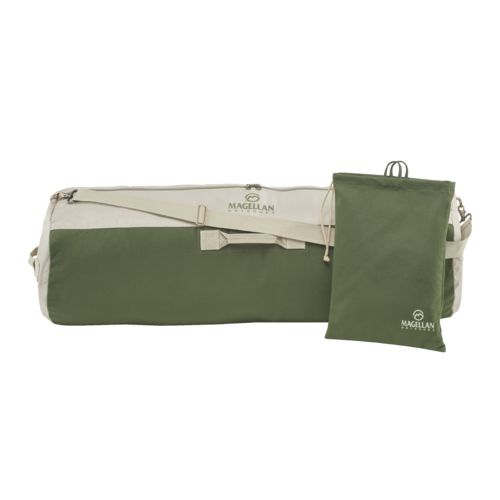 Magellan Outdoors 42 in Canvas Barrel Duffel Bag