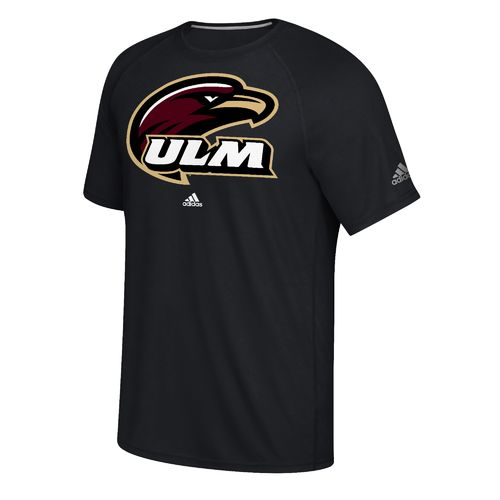 adidas Men's University of Louisiana at Monroe School Logo Ultimate T-shirt