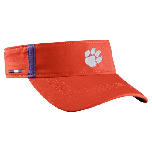 Nike™ Men's Clemson University AeroBill Sideline Visor - view number 3