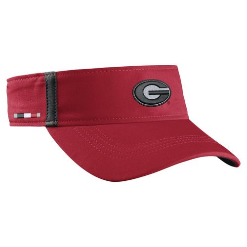 Nike™ Men's University of Georgia AeroBill Sideline Visor - view number 3