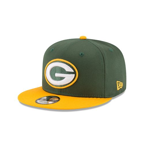 New Era Men's Green Bay Packers 9FIFTY Baycik Snapback Cap