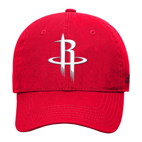 adidas™ Boys' Houston Rockets Basic Slouch Adjustable Cap