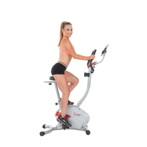 Sunny Health & Fitness Magnetic Upright Exercise Bike - view number 9
