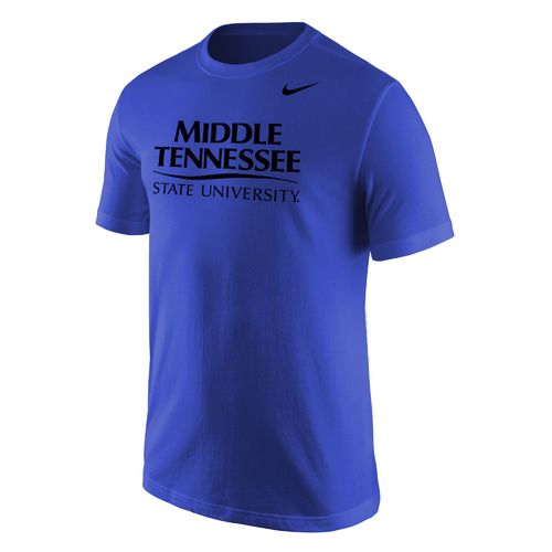 Nike Men's Middle Tennessee State University Wordmark T-shirt
