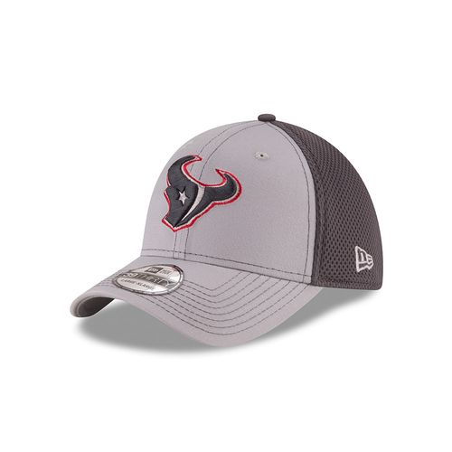New Era Men's Houston Texans Grayed Out 39THIRTY Neo Cap
