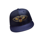 New Era Men's New Orleans Pelicans 59FIFTY Team On Court Cap - view number 1