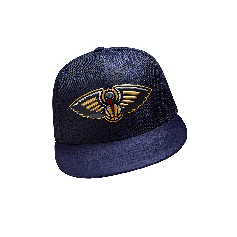 New Era Men's New Orleans Pelicans 59FIFTY Team On Court Cap