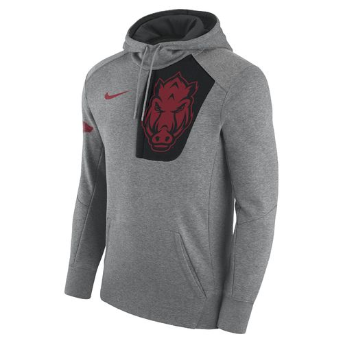 Nike Men's University of Arkansas Fly Fleece Pullover Hoodie