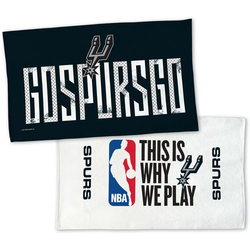 WinCraft San Antonio Spurs 22 in x 42 in On-Court 2-Sided Locker Room Towel