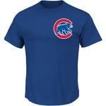 Majestic Men's Chicago Cubs Addison Russell 27 Name and Number T-shirt - view number 2