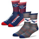 For Bare Feet Men's Houston Texans Father's Day Socks - view number 1