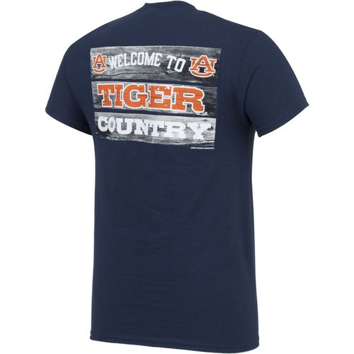 New World Graphics Men's Auburn University Welcome Sign T-shirt - view number 2