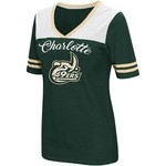 Colosseum Athletics Women's University of North Carolina at Charlotte Twist 2.1 V-Neck T-shirt - view number 1