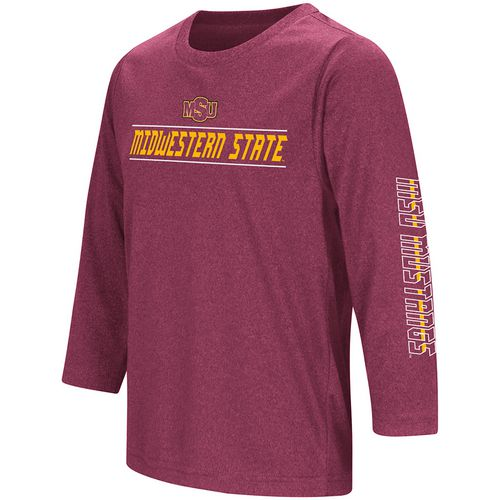 Colosseum Athletics Boys' Midwestern State University Long Sleeve T-shirt