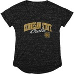 Blue 84 Women's Kennesaw State University Dark Confetti V-neck T-shirt - view number 1