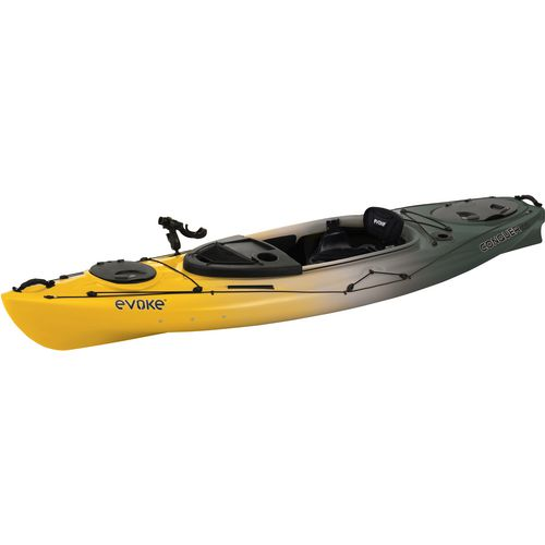 Evoke conquer 100 10 ft sit in fishing kayak academy for Fishing kayak academy