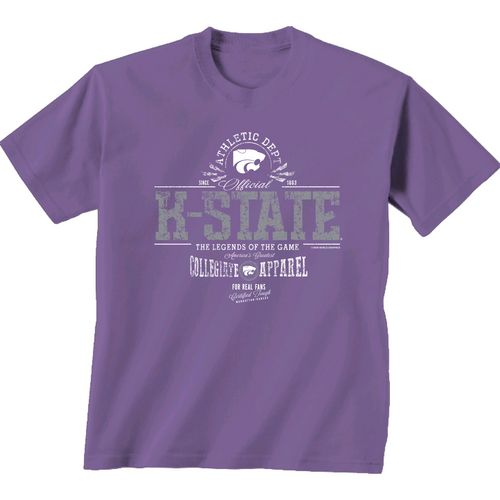 New World Graphics Men's Kansas State University Legends of the Game T-shirt