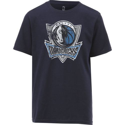 NBA Boys' Dallas Mavericks Distressed Logo T-shirt