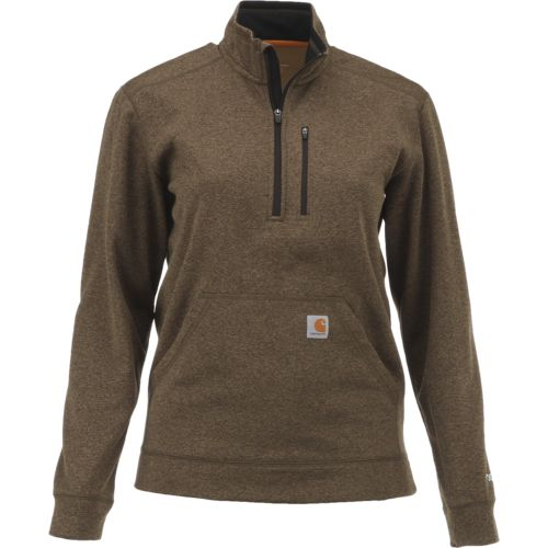Carhartt Men's Force Extremes Mock Neck 1/2 Zip Sweatshirt