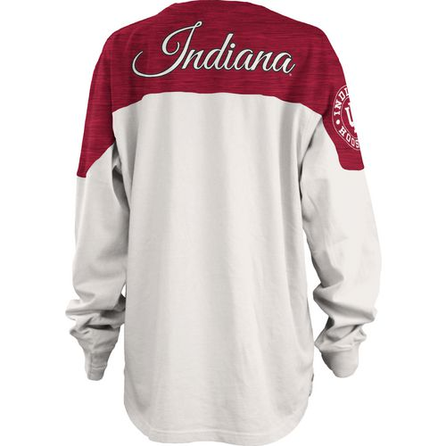 Three Squared Juniors' Indiana University Cannondale Long Sleeve T-shirt