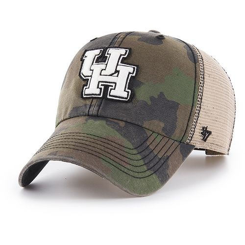 '47 University of Houston Burnett Frontline Camo Clean Up Cap