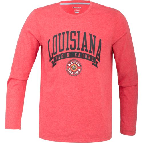 Champion Men's University of Louisiana at Lafayette In Pursuit Long Sleeve T-shirt