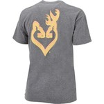 Browning Women's Classic Buckheart Fade T-shirt - view number 2