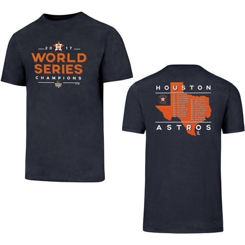 '47 Men's Astros World Series Champions State Roster Club T-Shirt