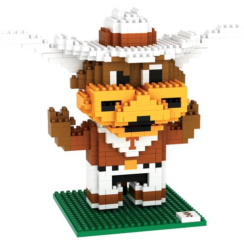 Forever Collectibles University of Texas 3-D BRXLZ Mascot Puzzle