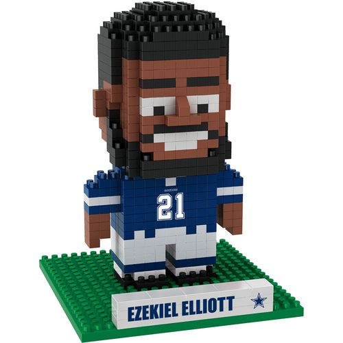 Forever Collectibles Dallas Cowboys Ezekiel Elliott BRXLZ 3-D Player Puzzle