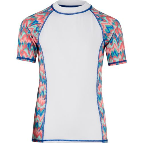 O'Rageous Girls' Printed Rash Guard