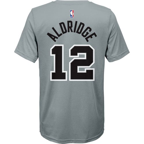 Nike Boys' San Antonio Spurs LaMarcus Aldridge 12 Statement T-shirt