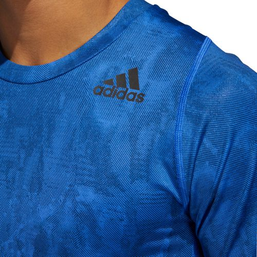 adidas Men's AlphaSkin Sport Sup Speed Fitted Shirt - view number 5