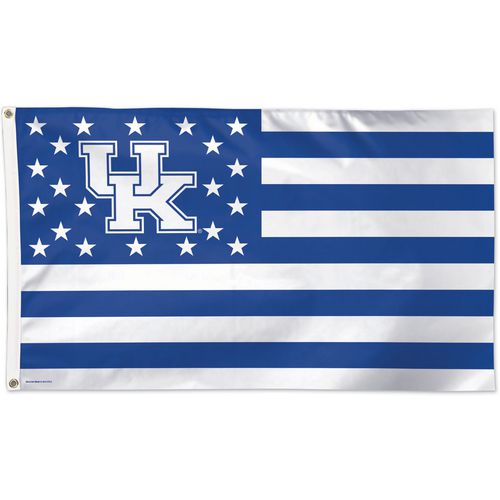 WinCraft Kentucky Wildcats Stars and Stripes Deluxe Flag
