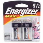 Energizer® Max 9V Batteries 2-Pack - view number 1