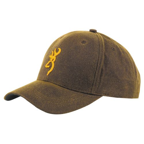 Browning Adults' Dura-Wax Cap with 3-D Buckmark