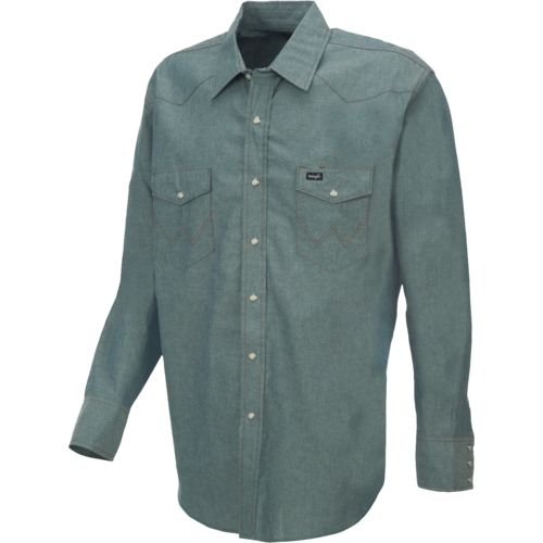 Wrangler® Men's Cowboy Cut® Long Sleeve Shirt