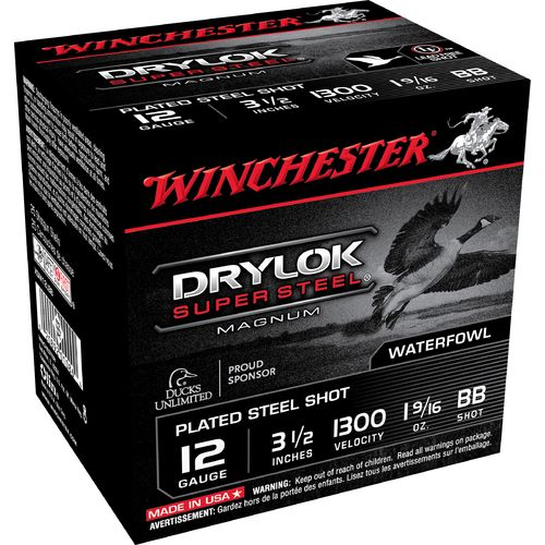 Winchester Super-X Drylok Super Steel™ Waterfowl Load 12 Gauge Shotshells