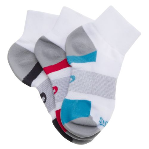ASICS® Women's Intensity Quarter Socks 3-Pack