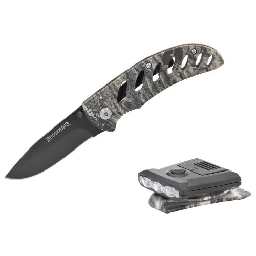Browning Night Seeker Knife and Light Combo