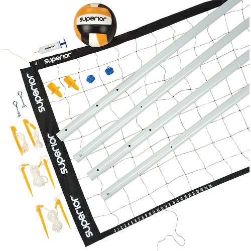 Image for Superior Gold Volleyball Set from Academy