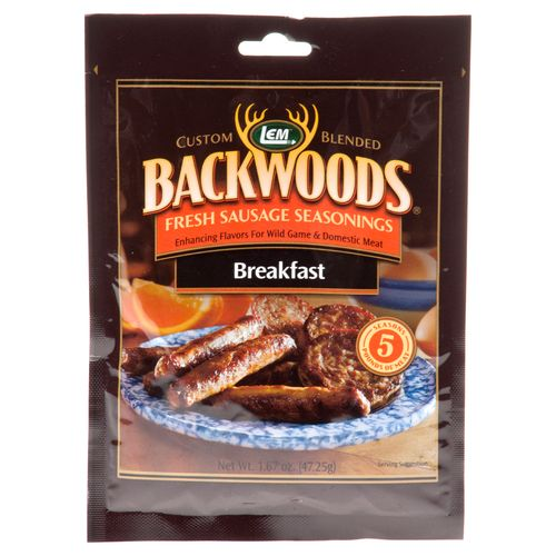 Display product reviews for LEM Backwoods Fresh Breakfast Seasoning