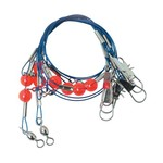 Lazer Sharp Steel-Wire Double-Drop Rigs 10-Pack