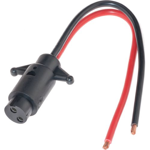 Marine Raider 2-Wire 8 Gauge Female Trolling Motor Connector - view number 1