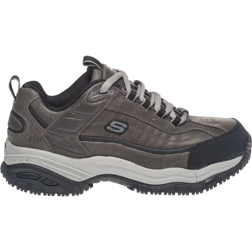 skechers work soft stride mens steel toe slip