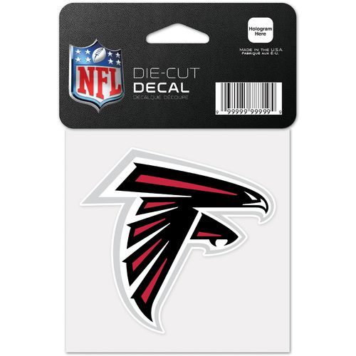 "WinCraft NFL 4"" x 4"" Team Decal"