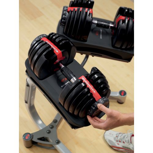 Display product reviews for Bowflex SelectTech 552 Adjustable Dumbbell Set